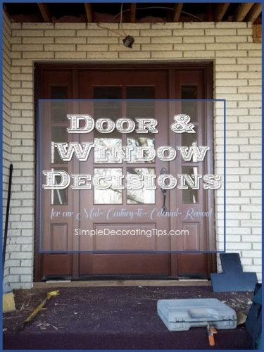SimpleDecoratingTips.com Door & Window Decisions